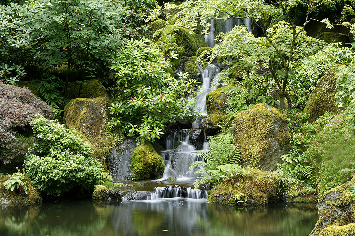 Japanese Garden Portland Oregon Ken Cannon Photography
